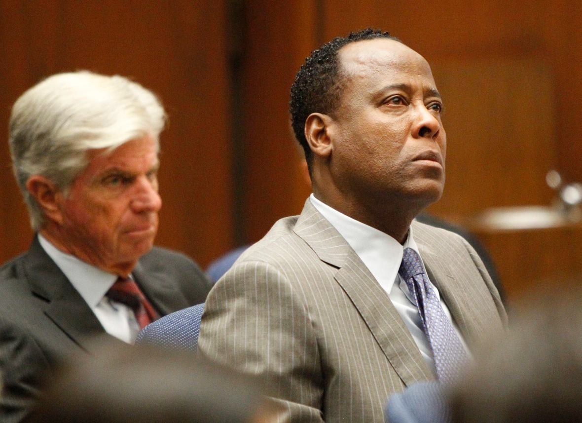 conrad murray getty images