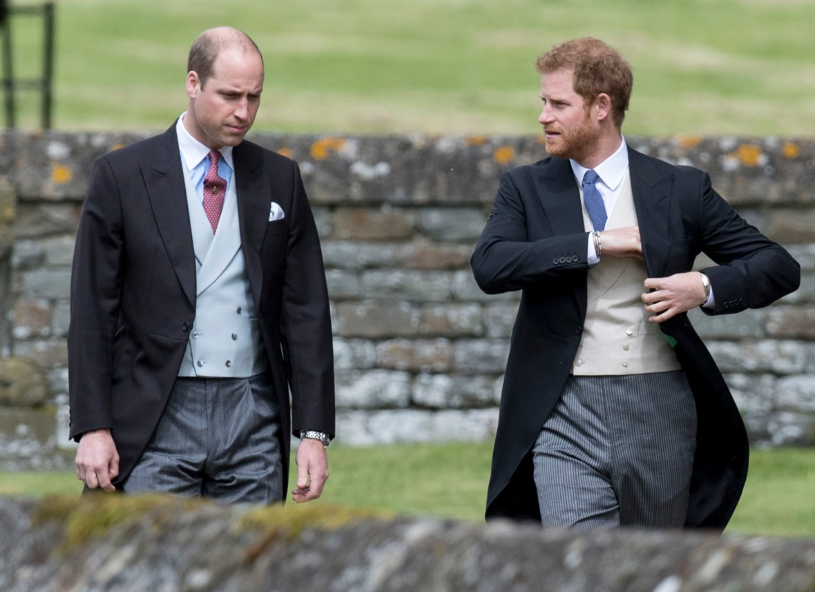 prince harry prince william getty