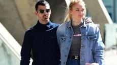 Joe Jonas, Sophie Turner, Walking