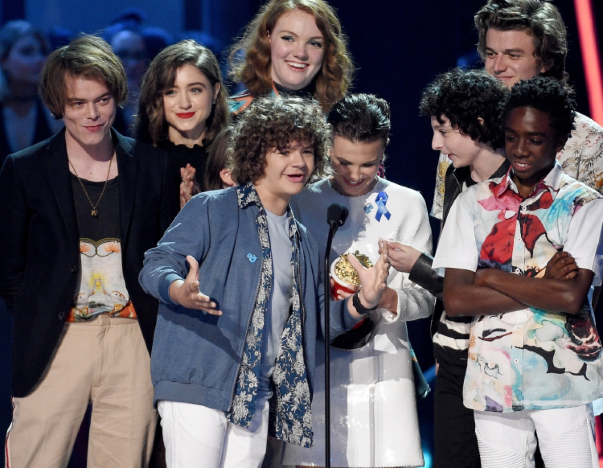 stranger things cast getty images