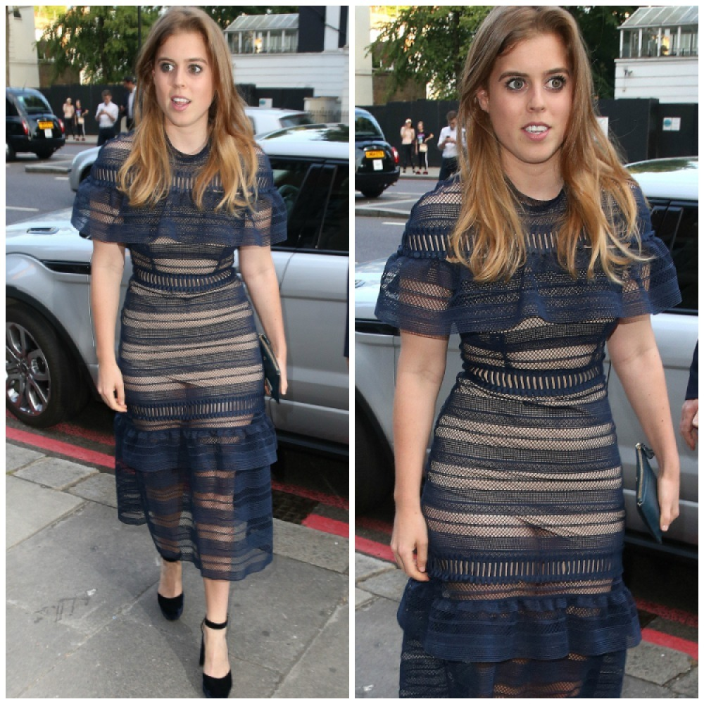princess beatrice splash
