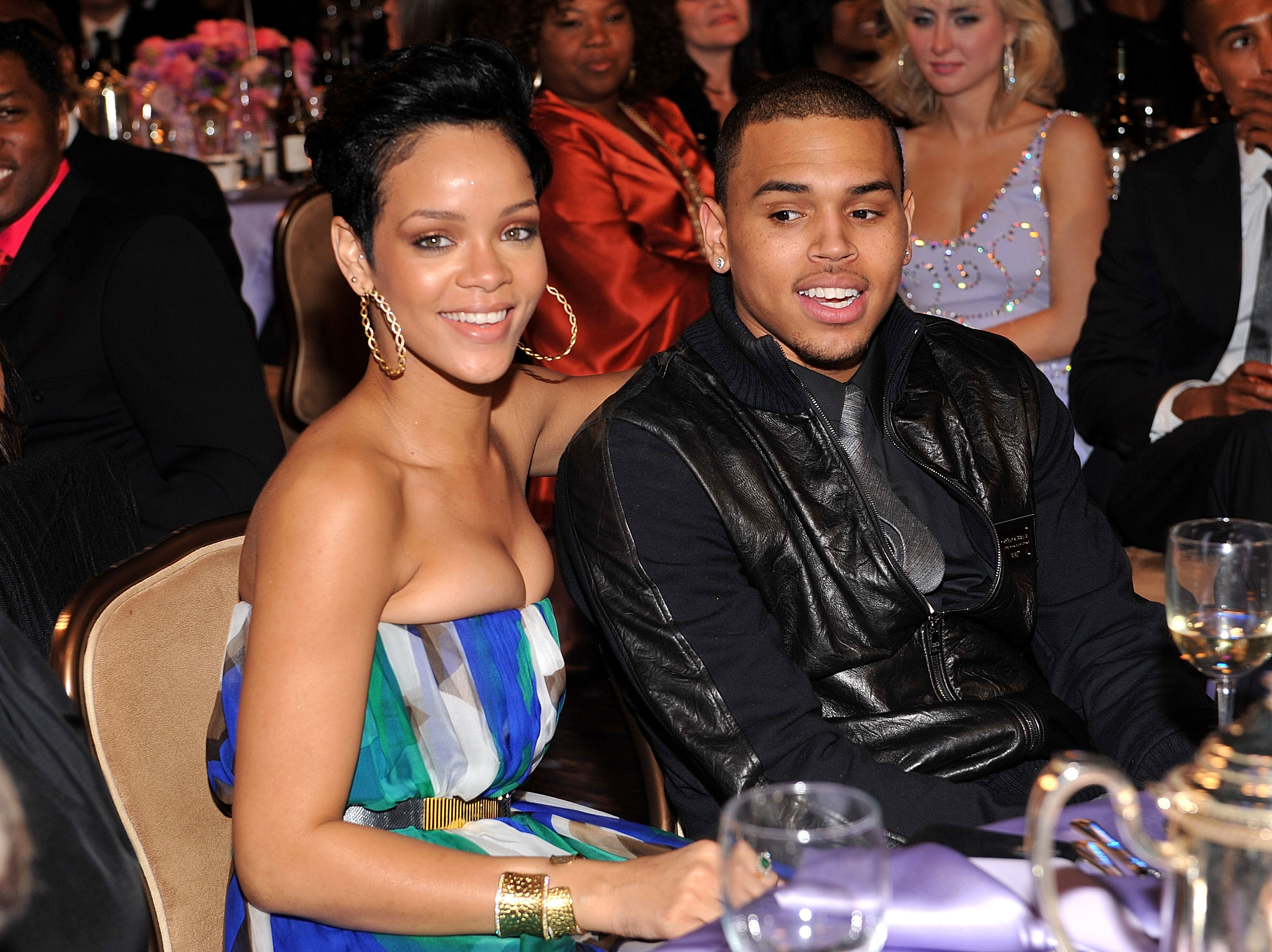 a6ea1839bae REPORTChris Brown Is Hurt Because Rihanna Doesn't Give AF About His  Proposal Confession