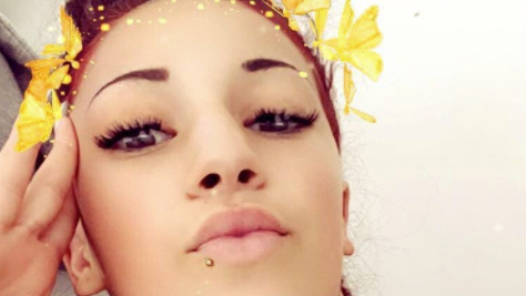"""""""Cash Me Outside"""" Girl Danielle Bregoli Shows off Her New Tattoos and  Piercings on Snapchat!"""