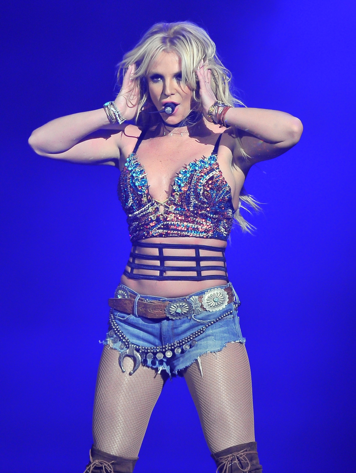 britney spears concert - getty images