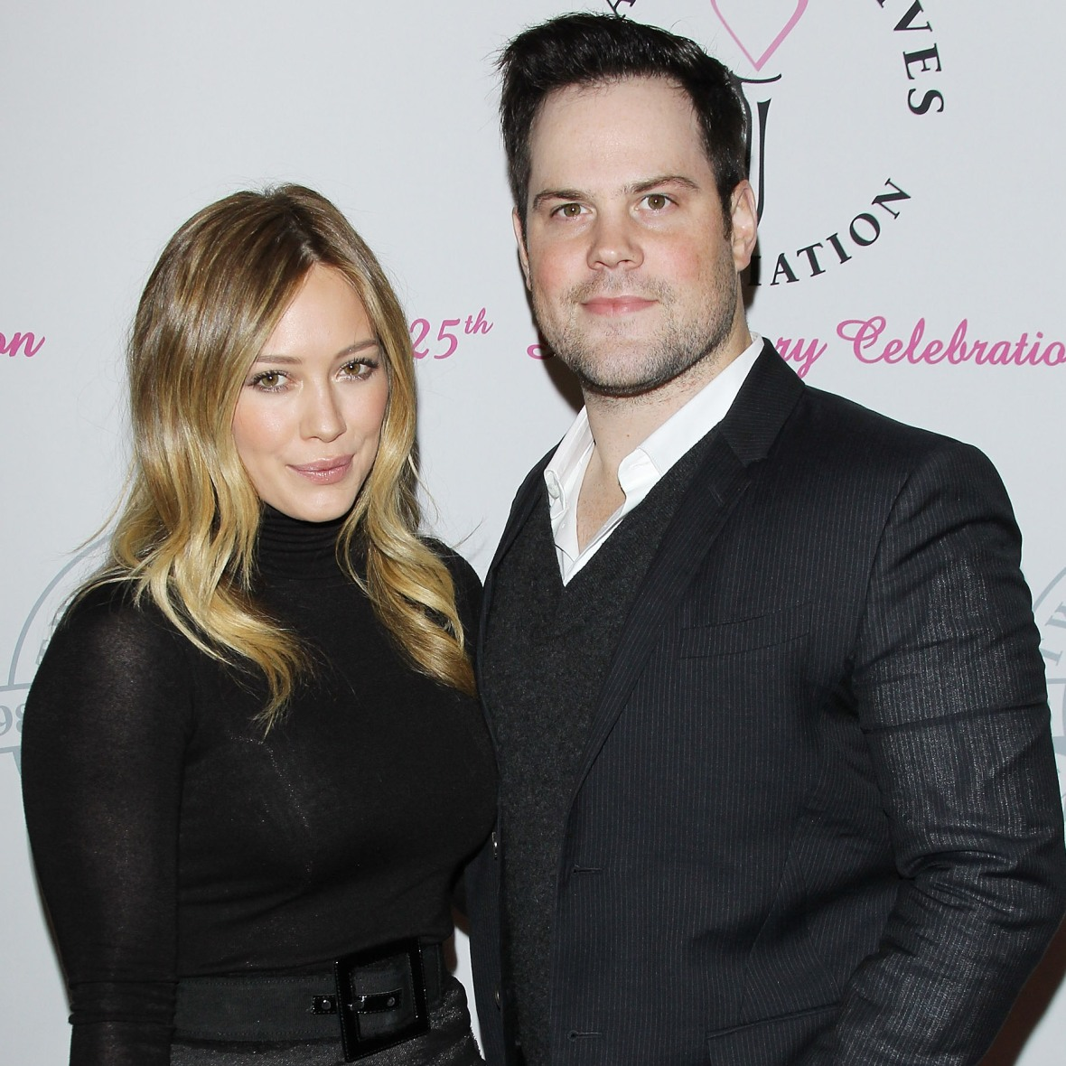 hilary duff mike comrie getty images