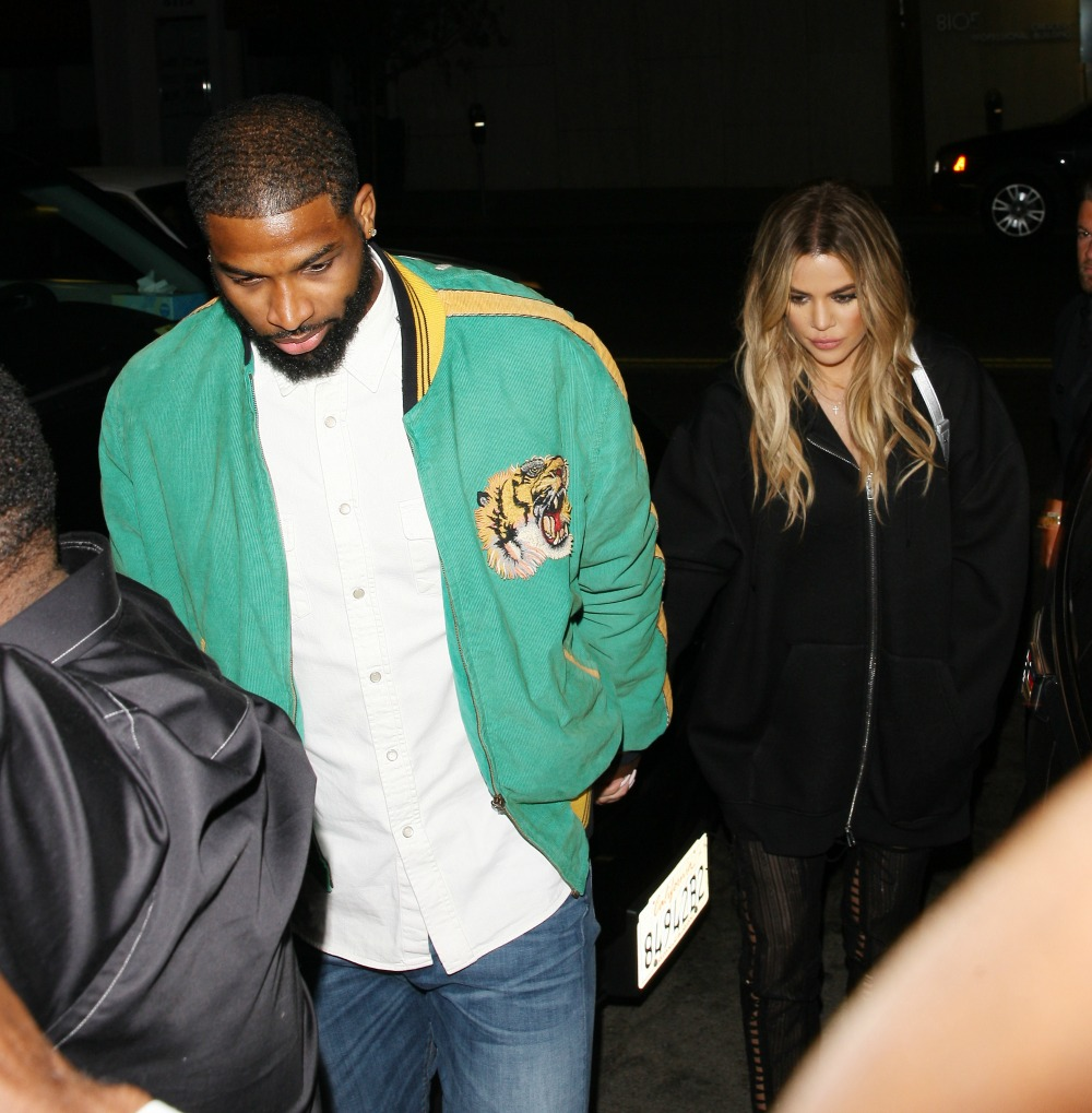 khloe kardashian tristan thompson splash