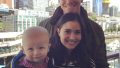 Sean Lowe and Catherine Giudici Stand With Baby Samuel
