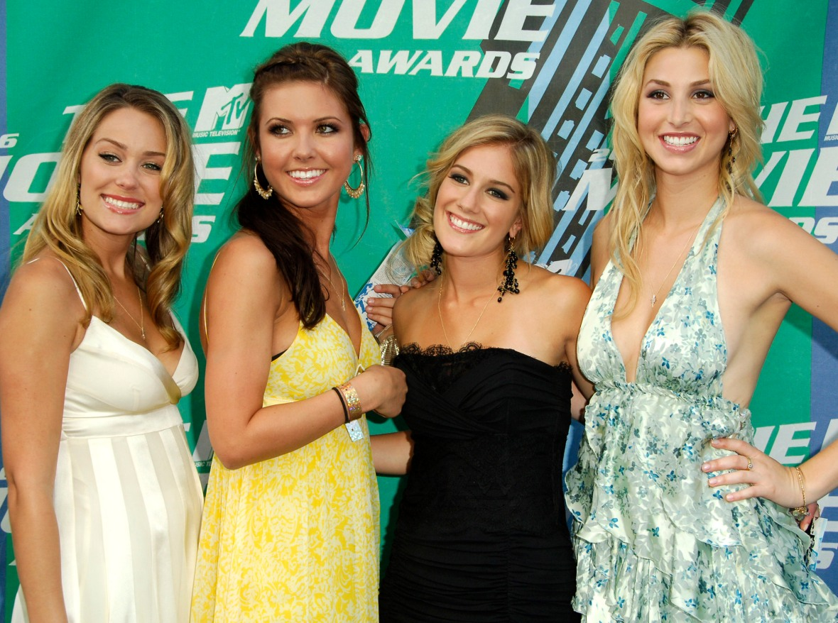 the hills cast getty images