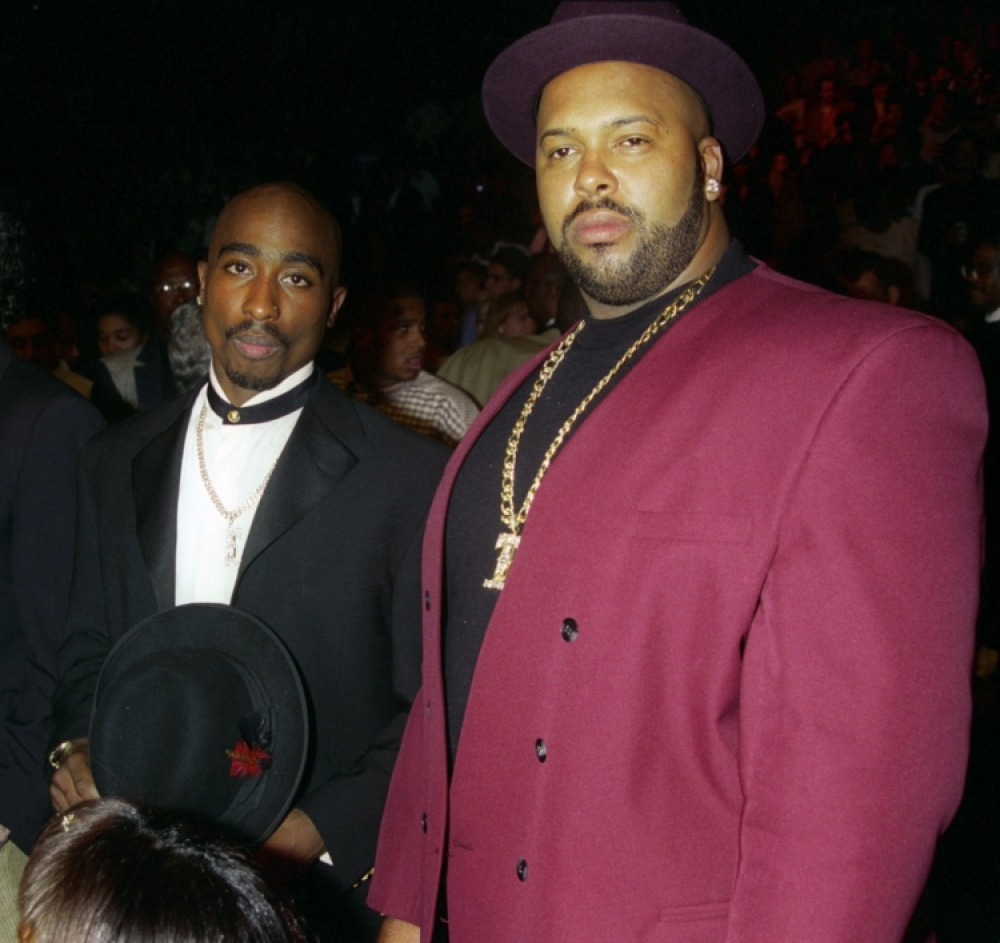 tupac suge knight getty