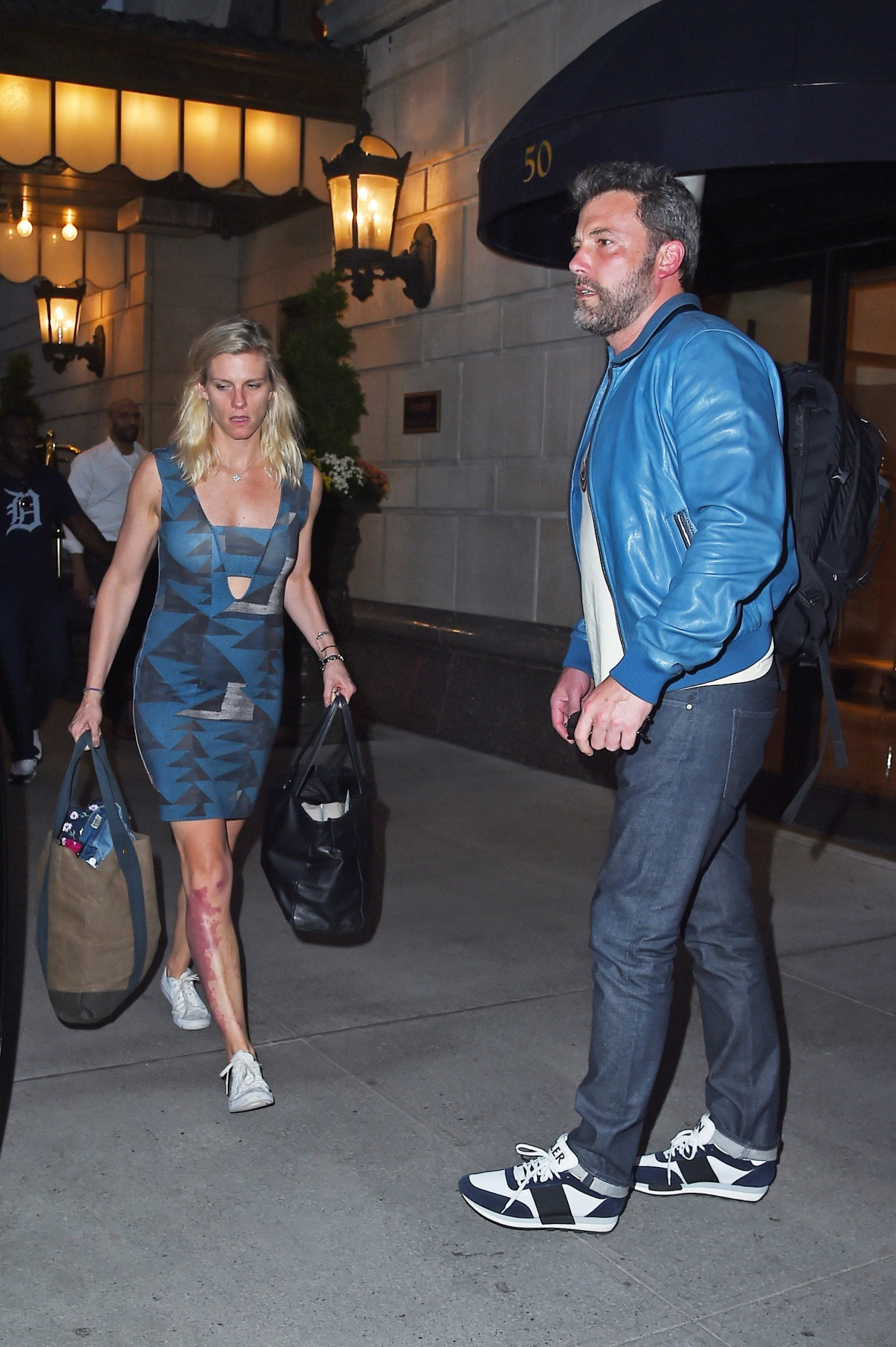 ben affleck and lindsay shookus - getty