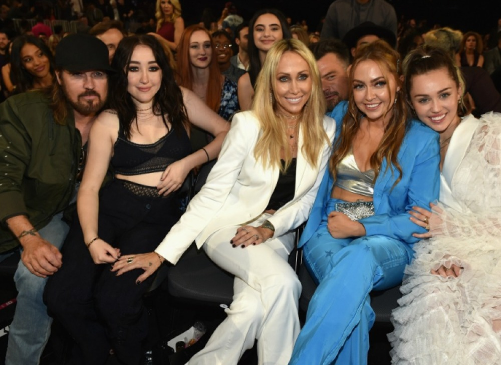 miley cyrus family getty