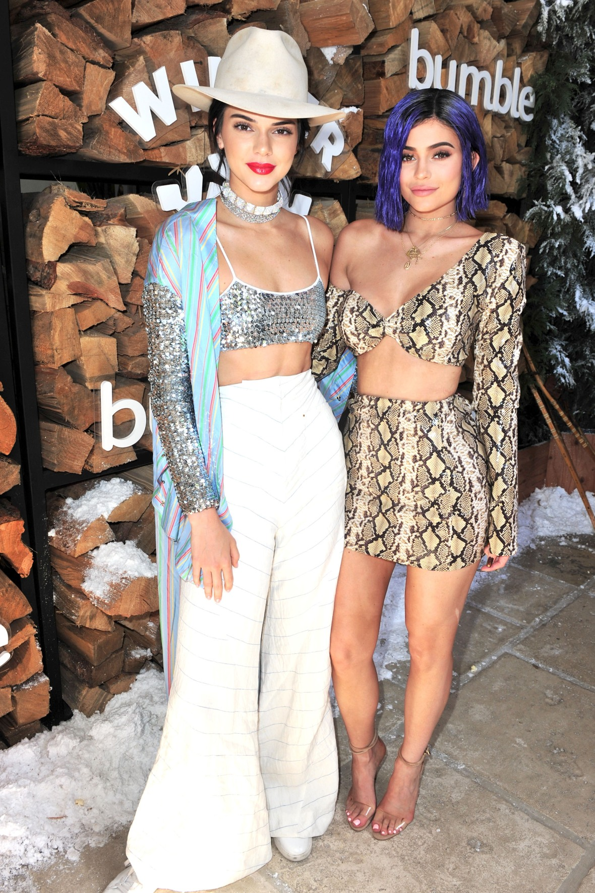 kendall and kylie jenner - getty