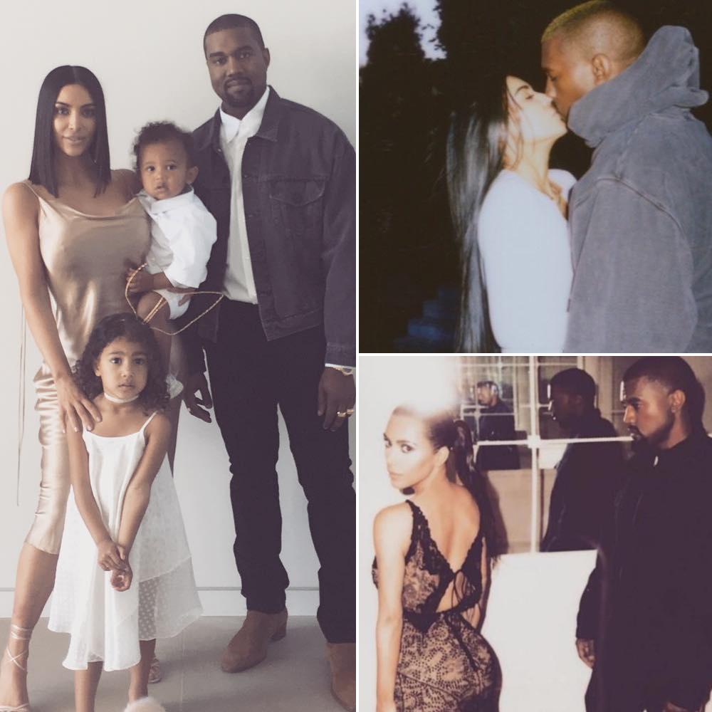 kim kardashian kanye west celebrity couple