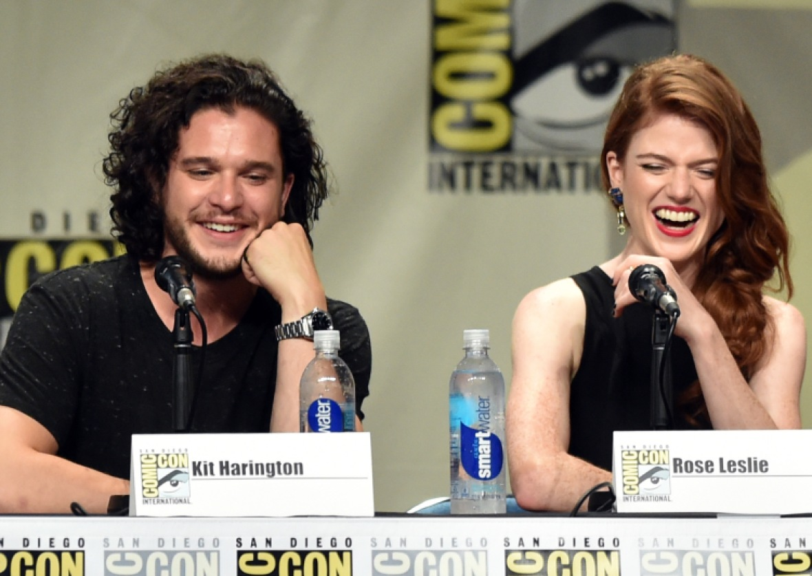 kit harington rose leslie getty images