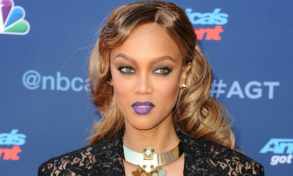 Tyra Banks on AGT — Model on the America's Got Talent Chopping Block!