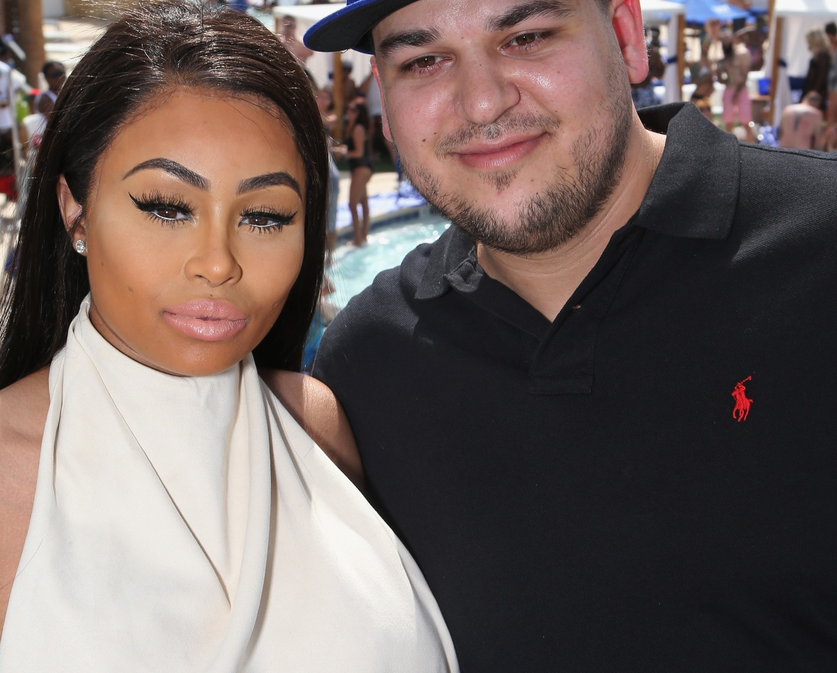 rob and chyna - getty