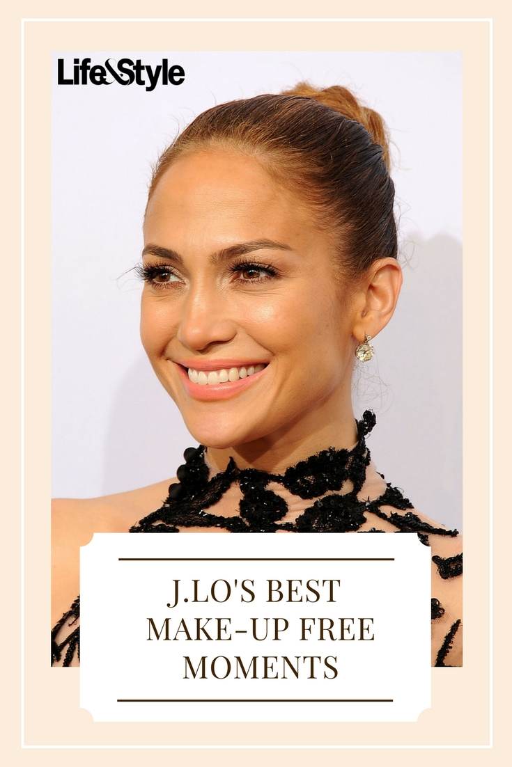 jlo makeup free pin