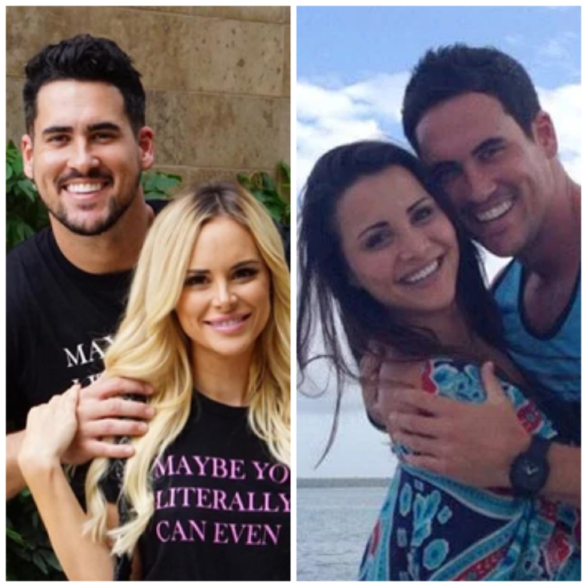 josh murray with andi dorfman and amanda stanton (instagram)