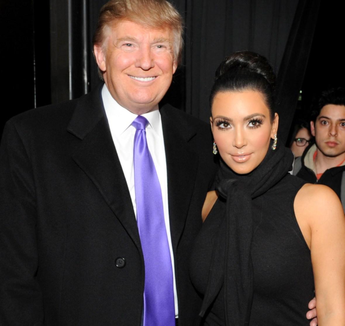 kim kardashian donald trump