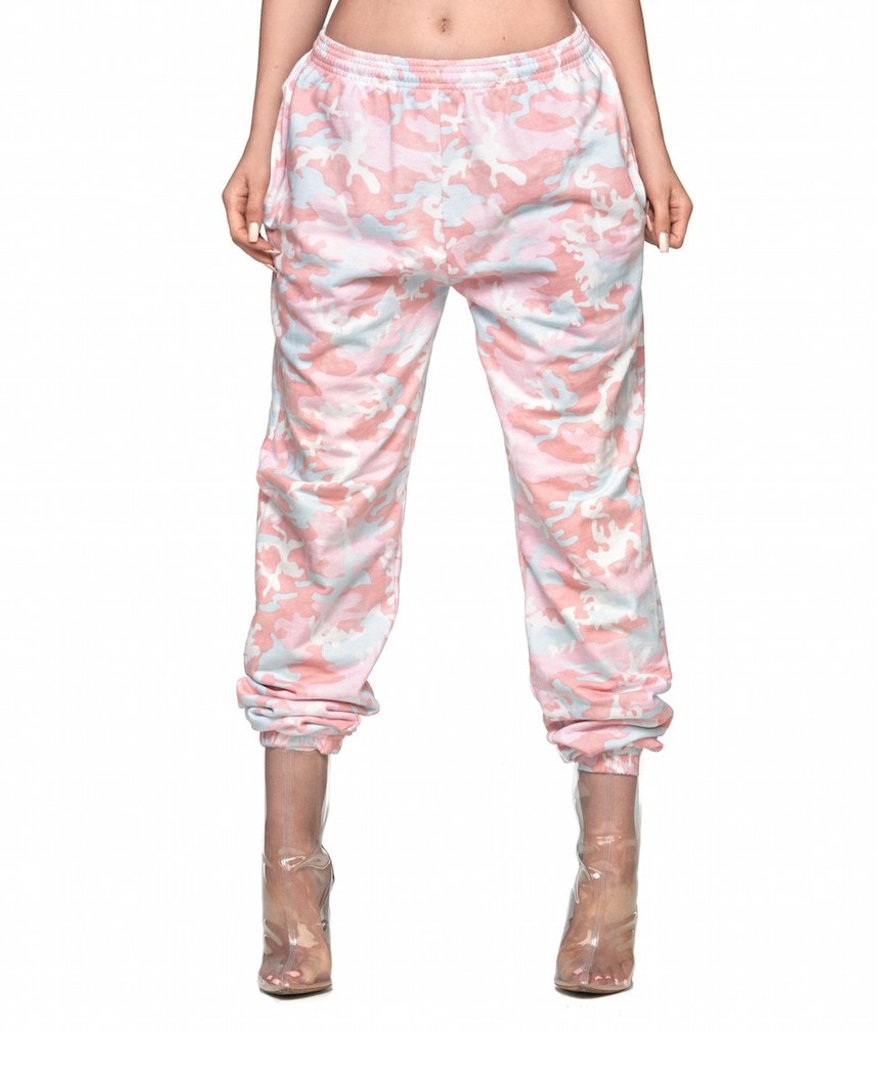 kylie cotton candy sweatpants