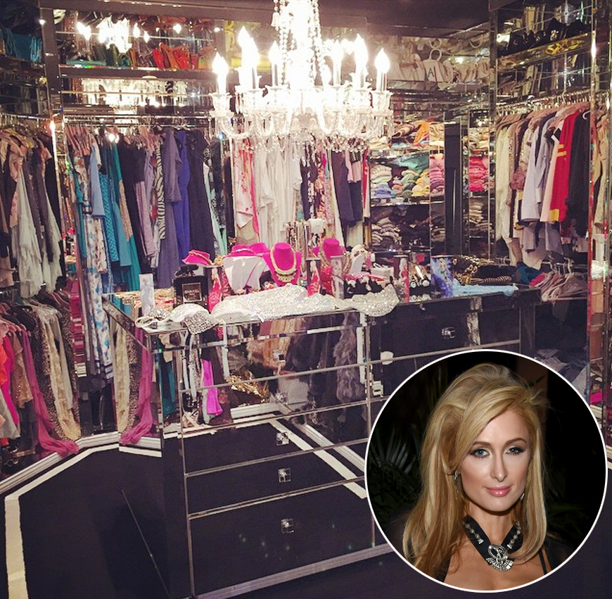 b31cd23bed1c Celebrity Closet Tour  The Most Ridiculous