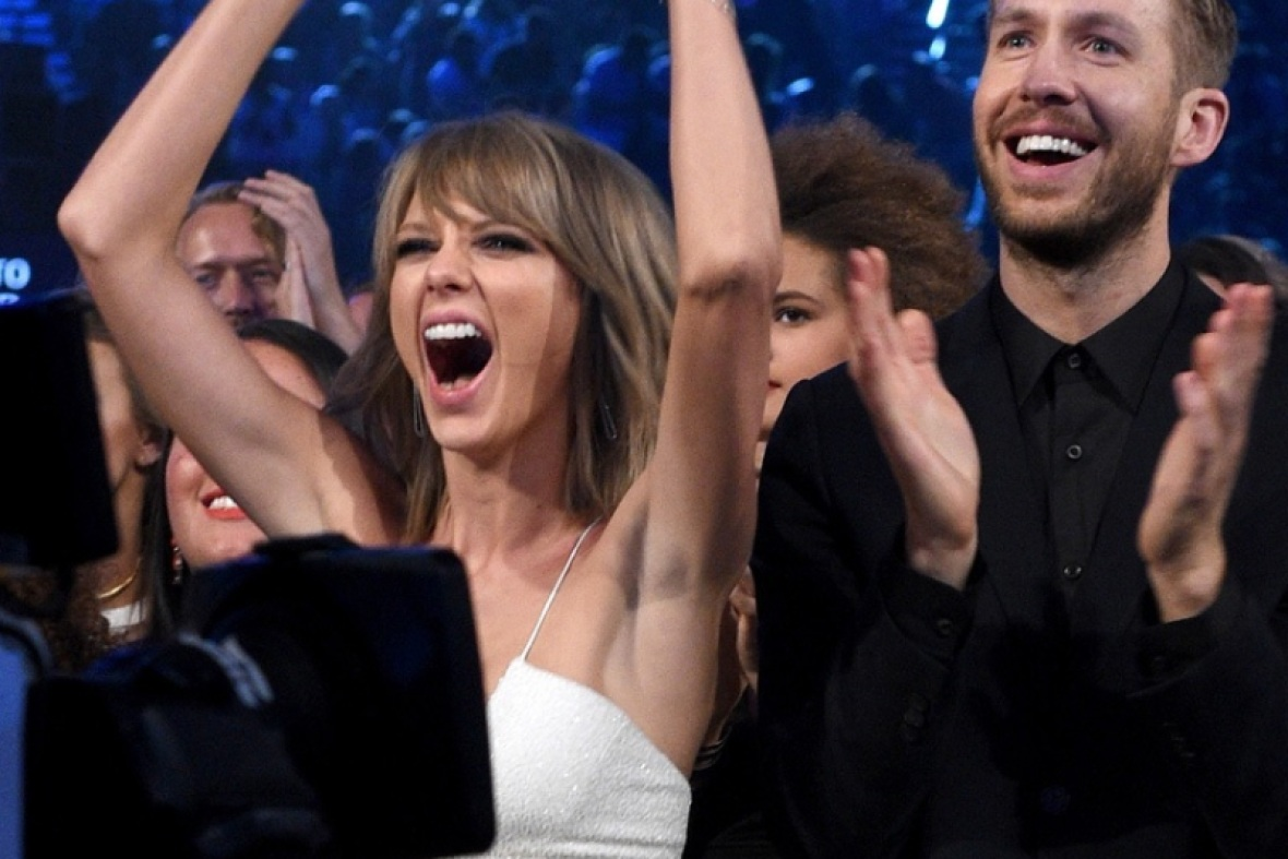 taylor swift calvin harris getty images
