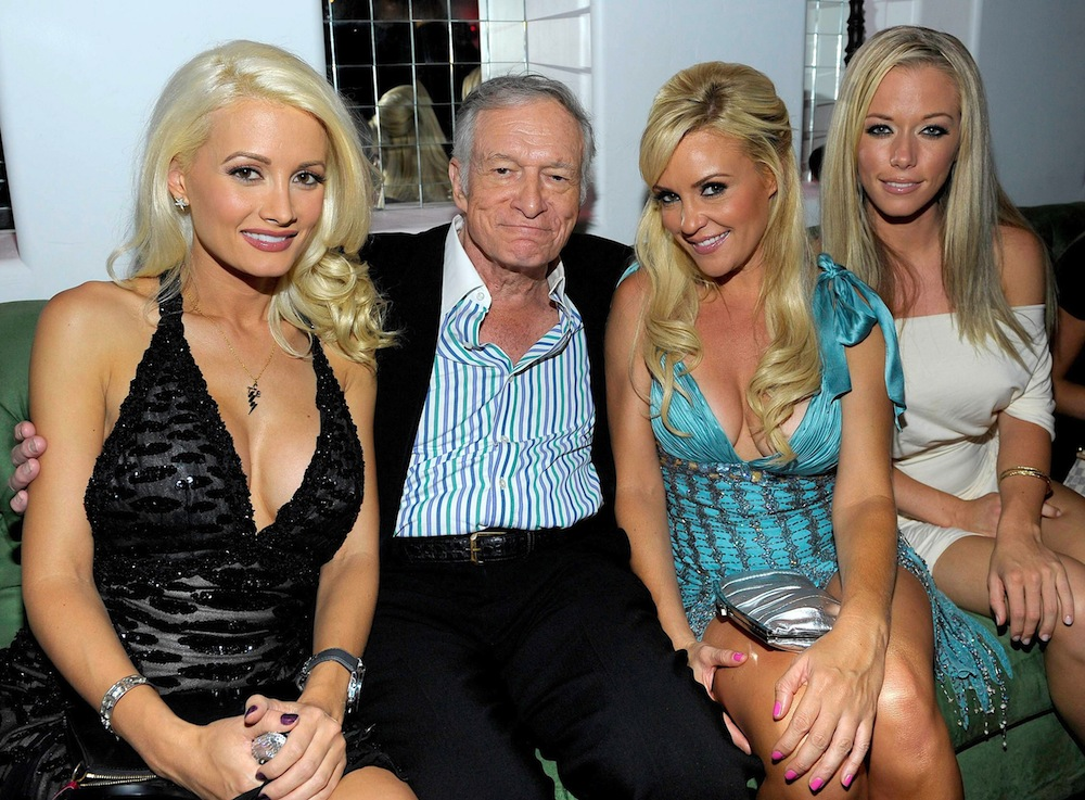 holly madison kendra wilkinson getty images