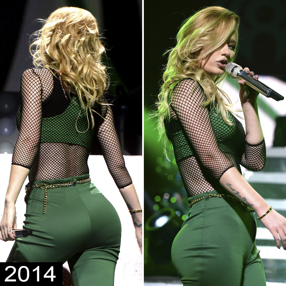 Iggy Azalea Booty Pictures iggy azalea's booty: real or fake? judge for yourself in