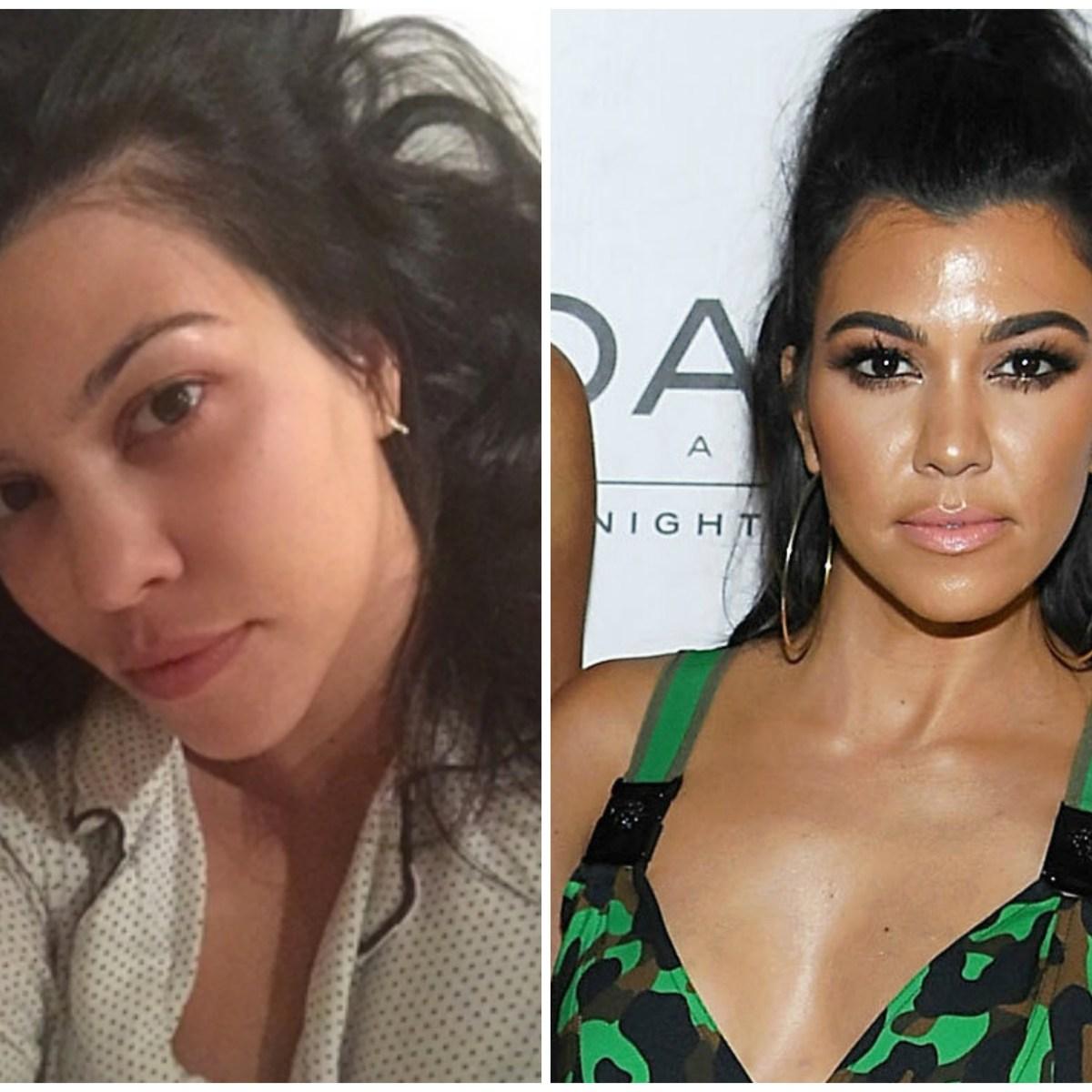 41628009af99c9 Kim Kardashian Without Makeup: See the Celeb's Surprising Cosmetic-Free  Pics!