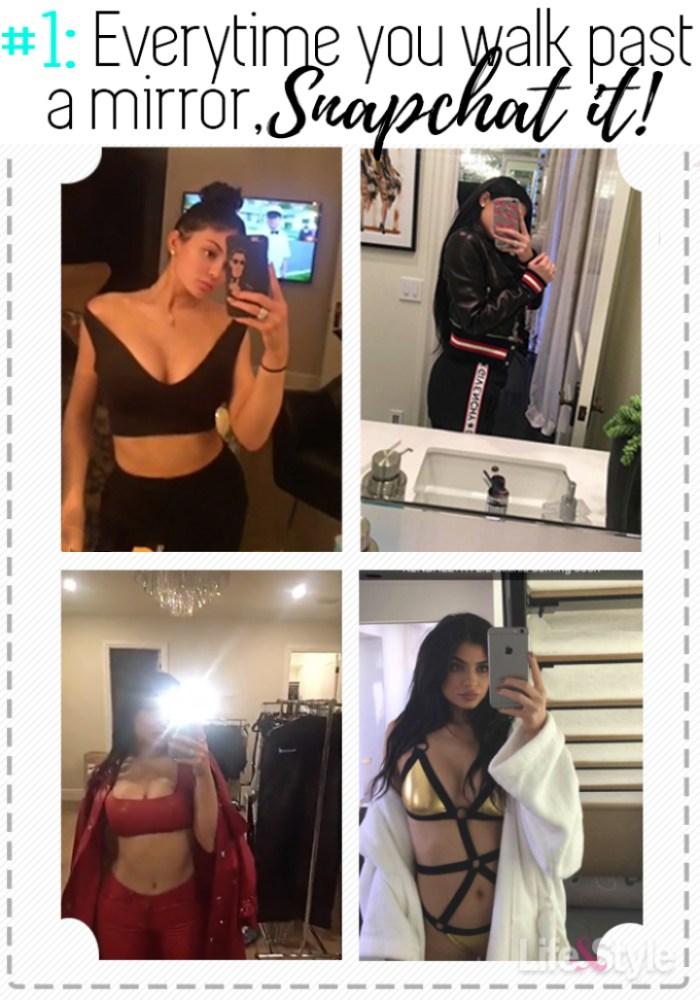 Kylie jenner selfies mobile