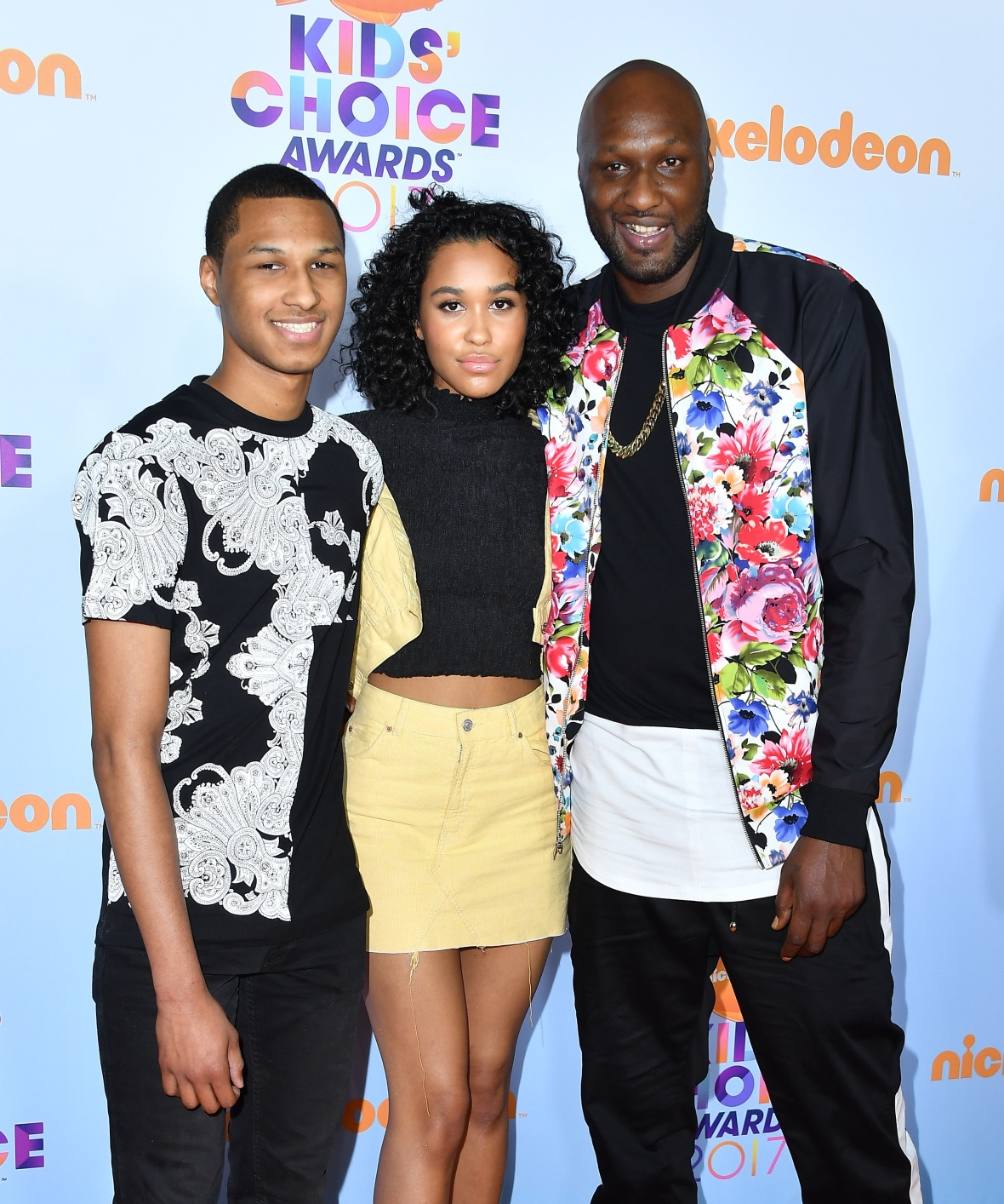 lamar odom kids - getty