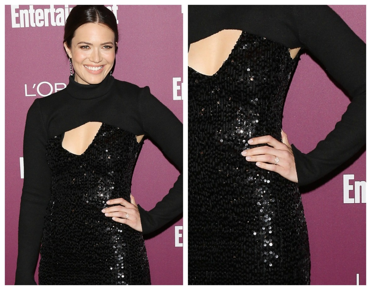 mandy moore engagement ring getty