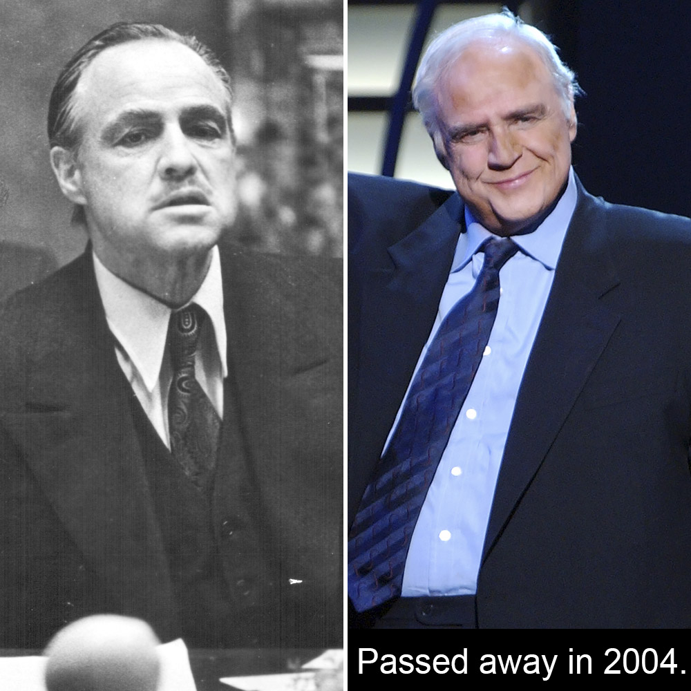 the godfather cast then and now a lot has changed in 45 years