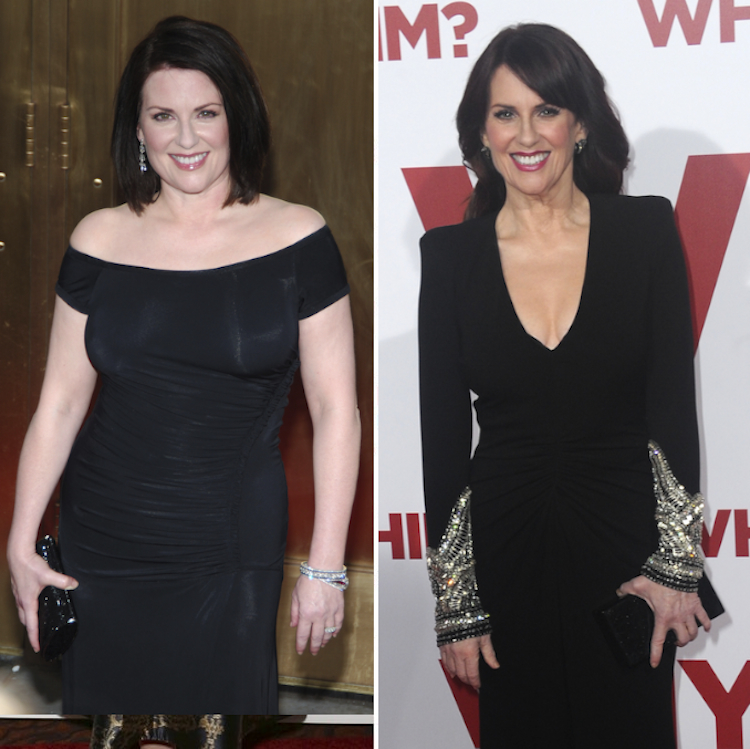 megan mullally weight loss — getty
