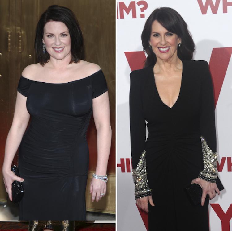 megan mullally weight loss — getty