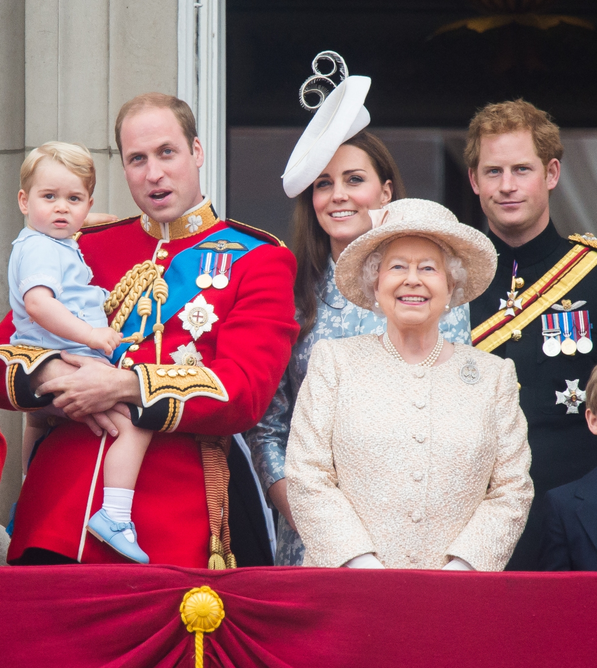 prince william kate middleton queen elizabeth getty images