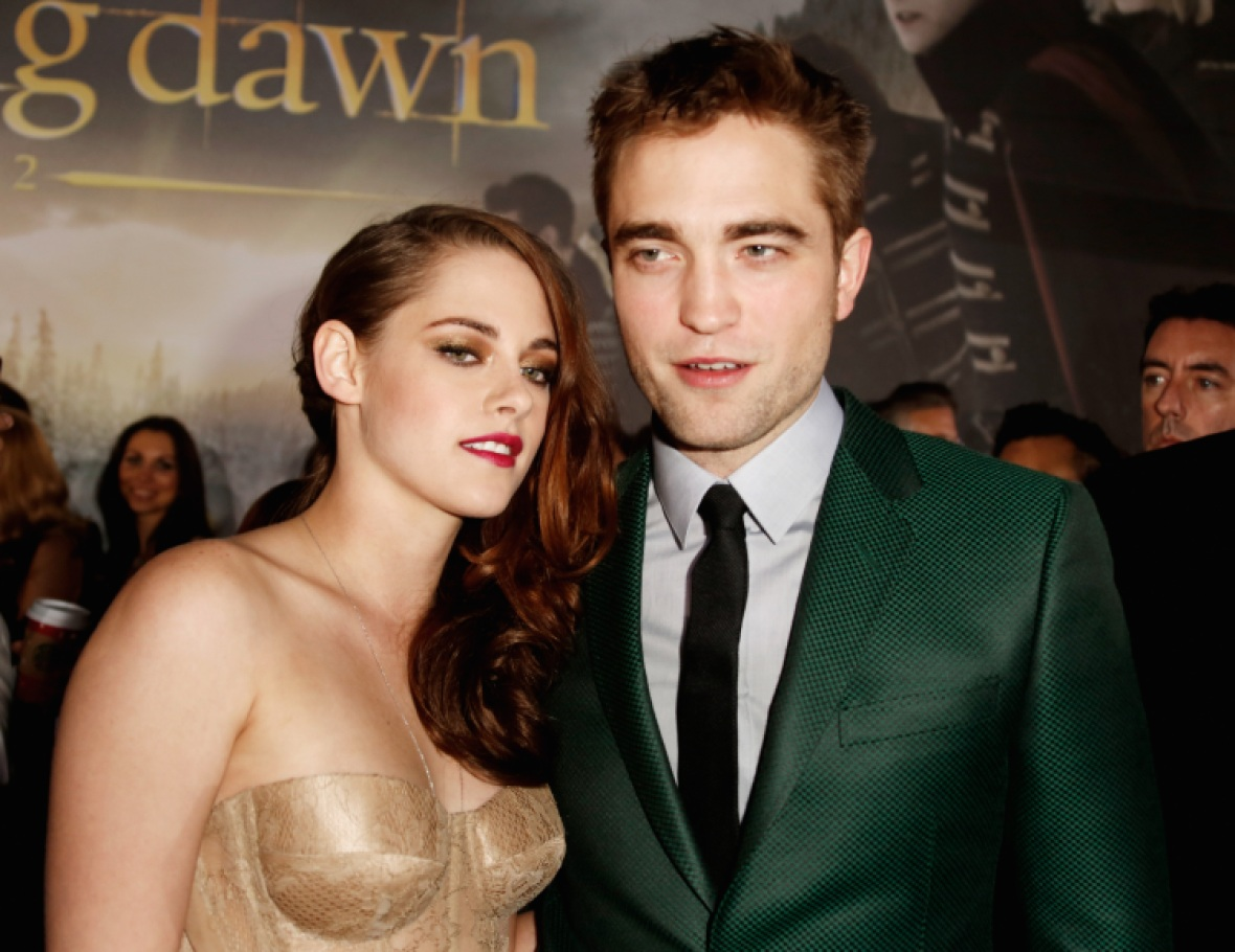 robert pattinson and kristen stewart getty images