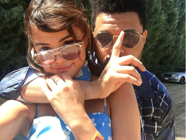Selena Gomez and Boyfriend The Weeknd Pose for Rare Instagram Pic