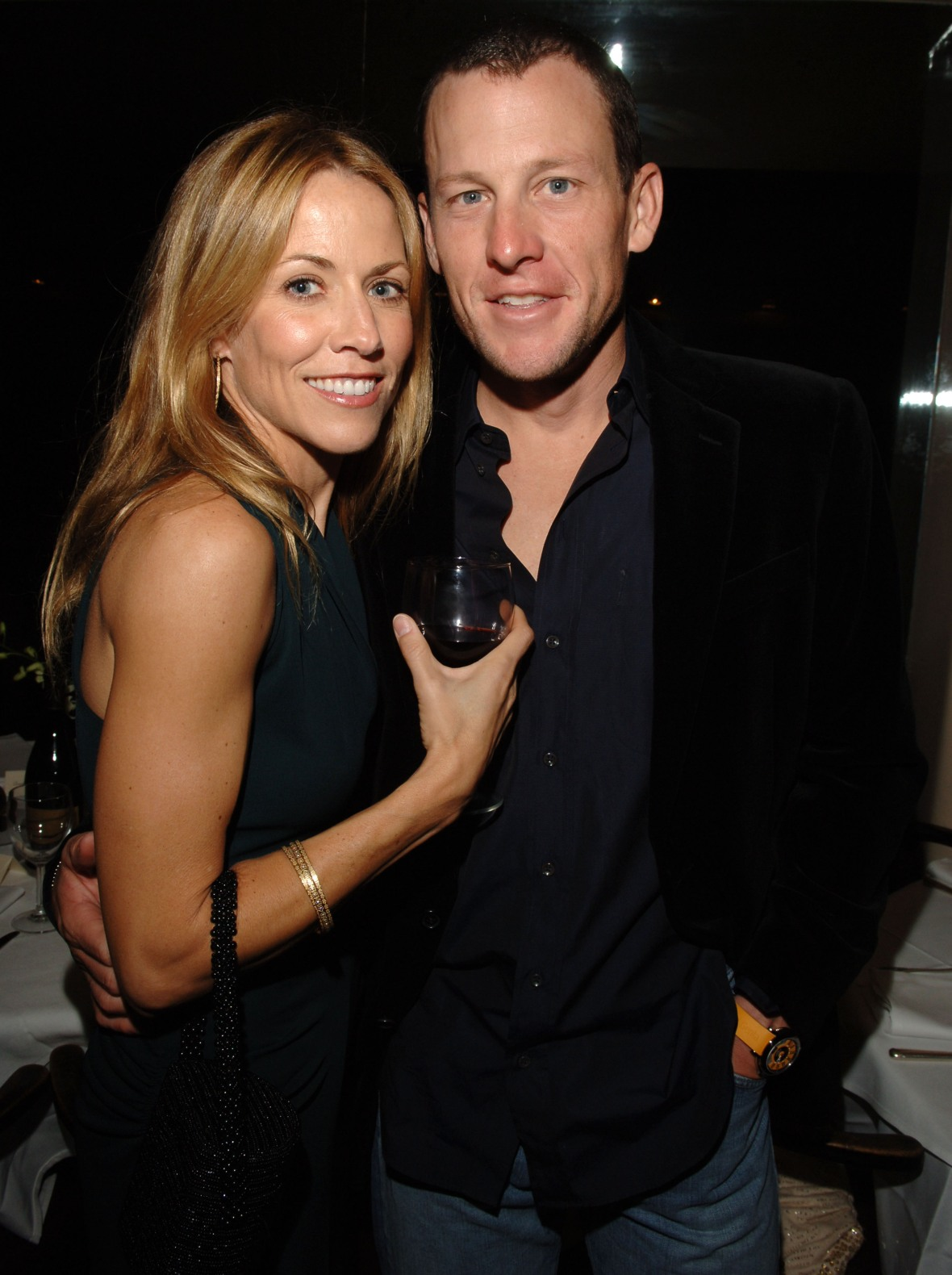 lance armstrong sheryl crow - getty