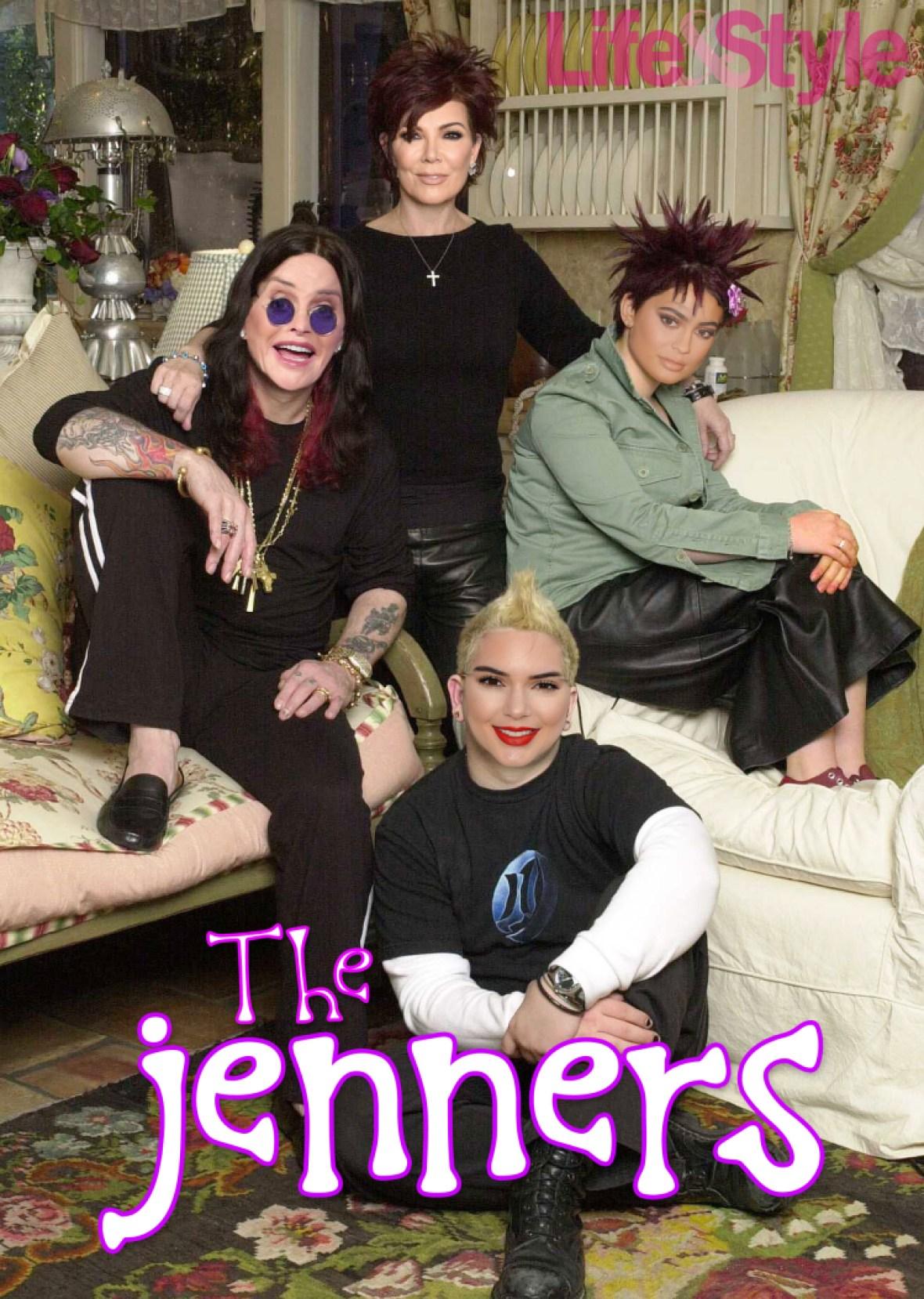 osbournes and jenners