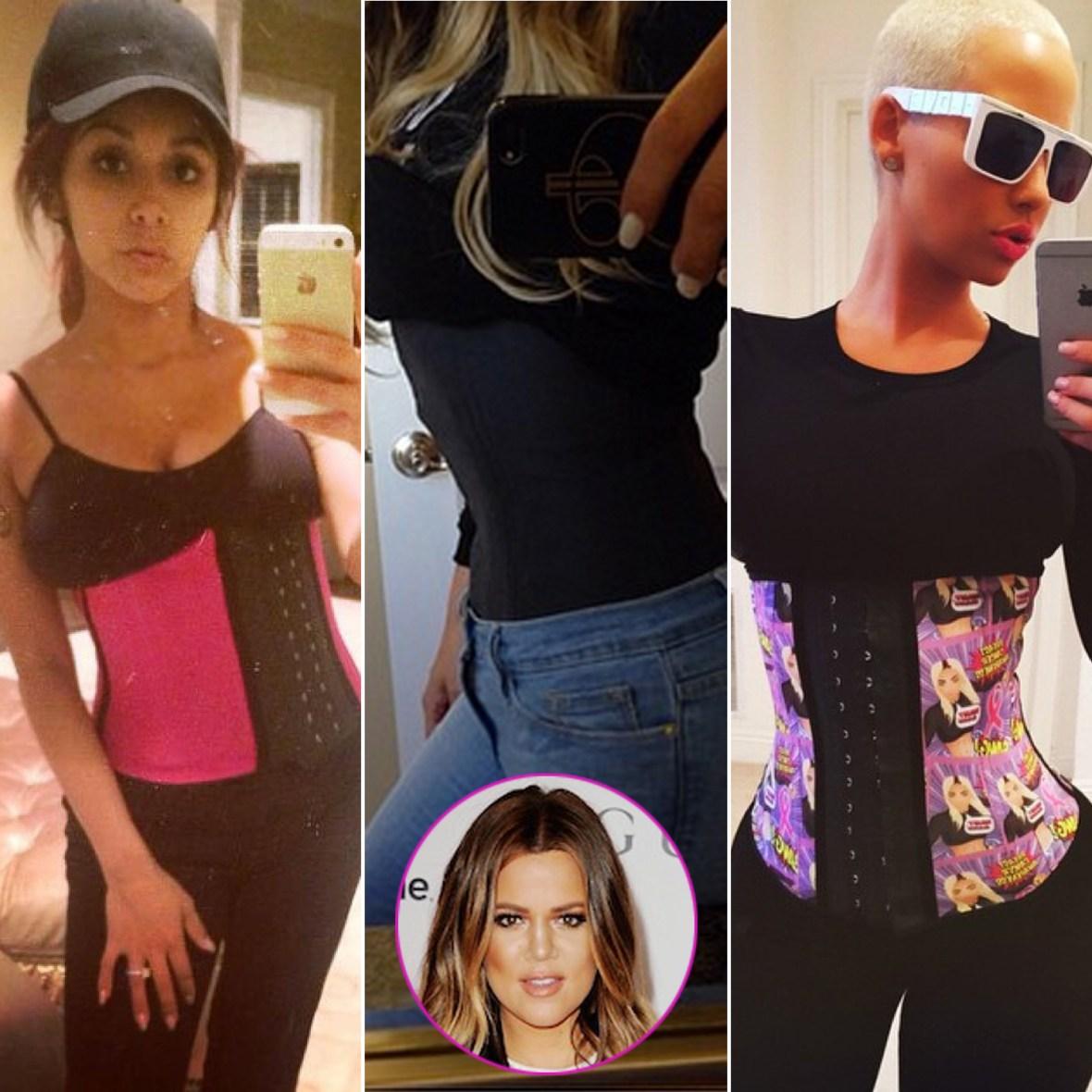 waist trainer snooki khloe kardashian