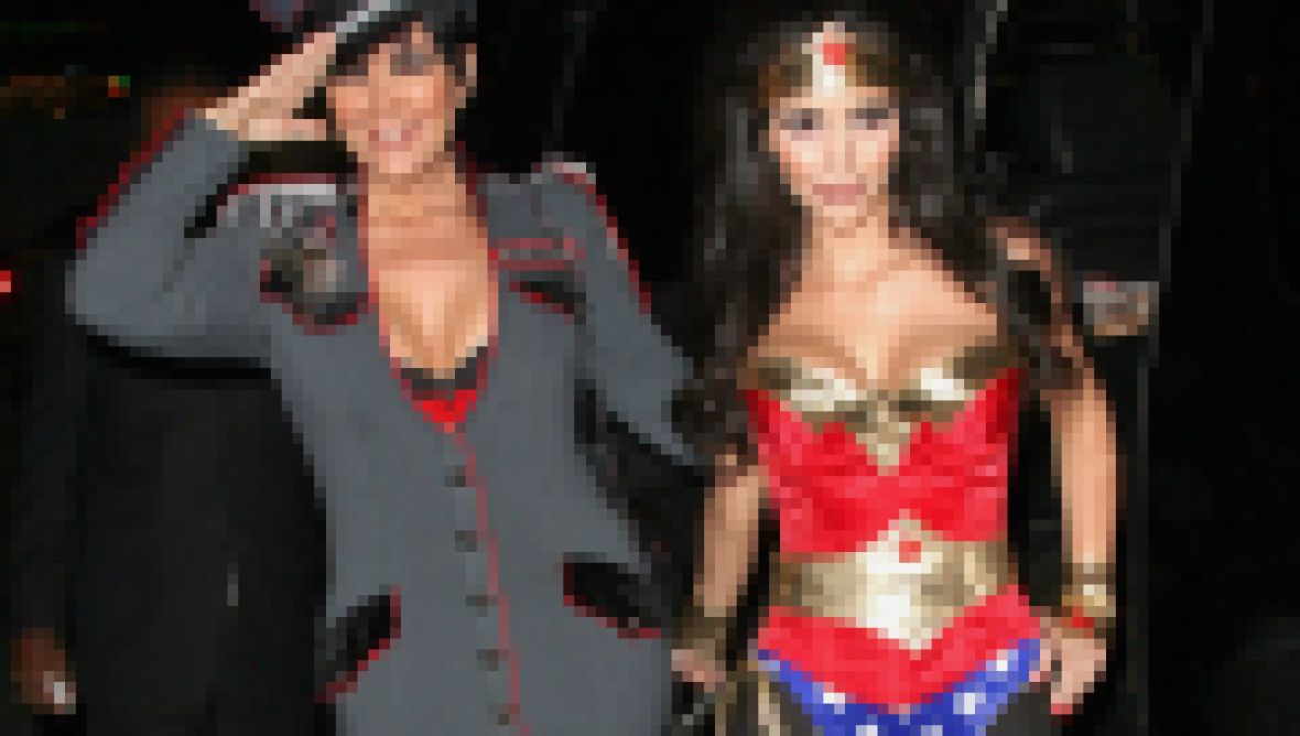 Kardashian Family Halloween Costumes