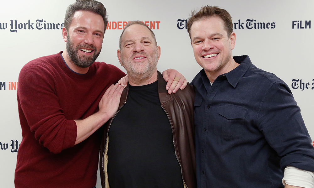 ben affleck harvey weinstein getty
