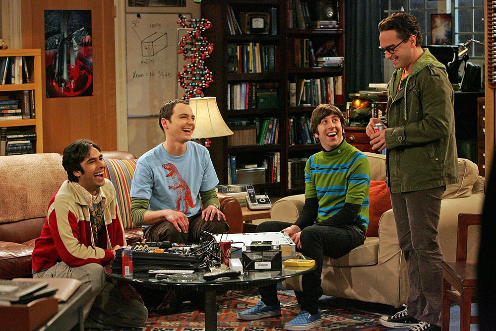 big bang theory cast getty