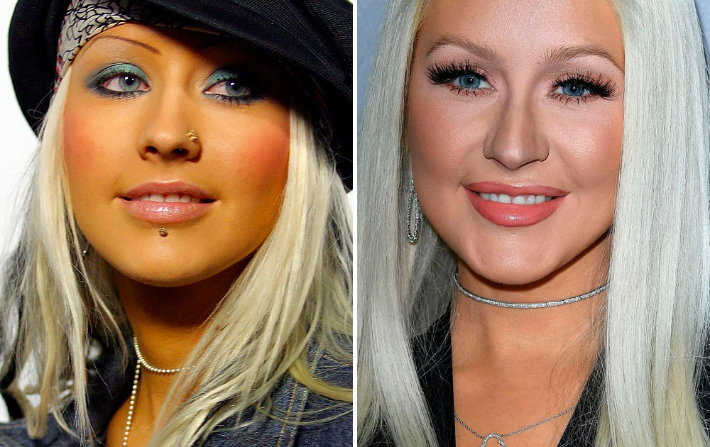 Christina Aguilera Nose Stud