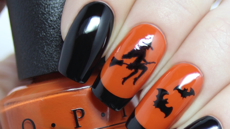 halloween-nails-witches