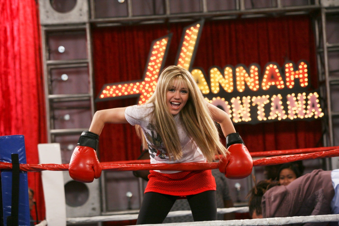 miley cyrus hannah montana getty images