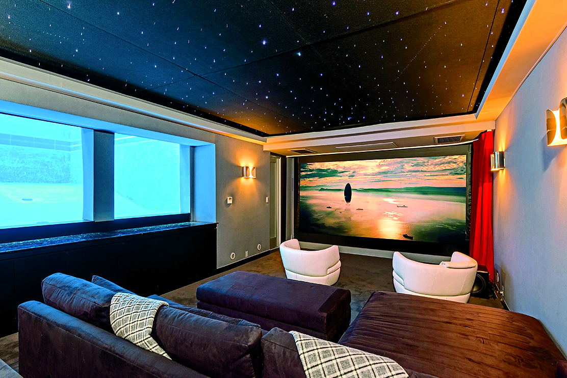 matthew perry's home theater (ls in book)