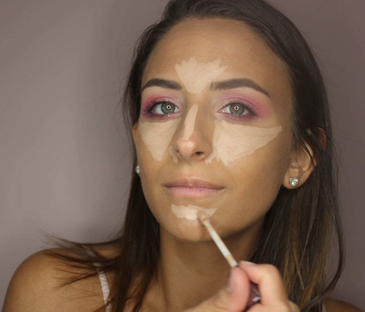 how to contour your face 3