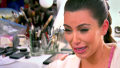 Kim Kardashian's Crying Face on KUWTK